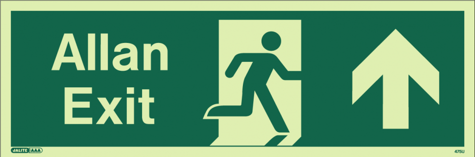 Dual Language safety signs